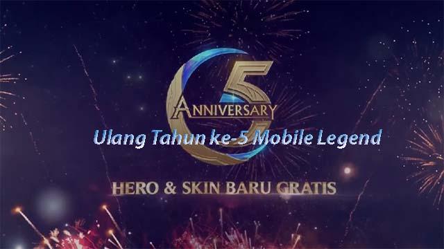 Ulang Tahun ke-5 Mobile Legend