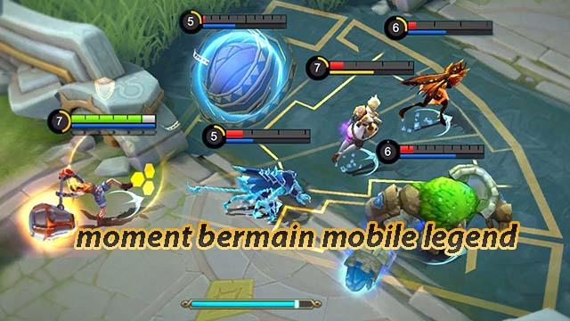 moment bermain mobile legend