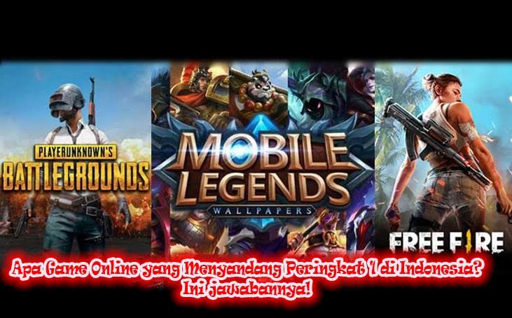 Apa Game Online yang Menyandang Peringkat 1 di Indonesia? Ini jawabannya!